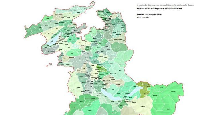 Berne veut diviser le nombre de communes par trois