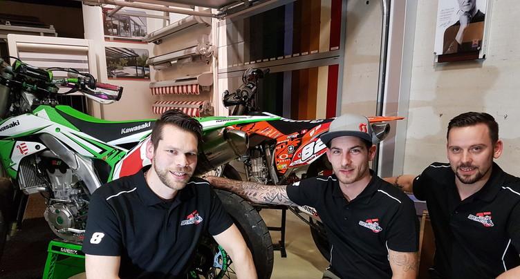 Une Team pour faire revivre le Supermotard dans le Jura