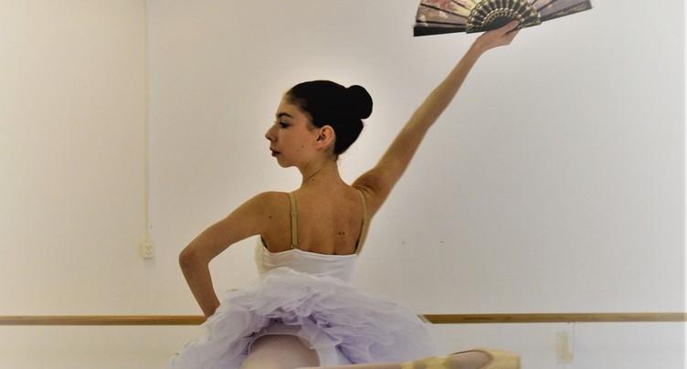 Une Ajoulote va danser à Paris