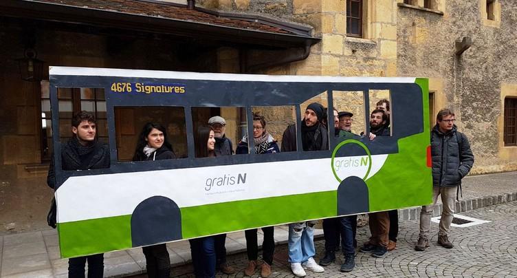 L'initiative pour des transports publics gratuits a abouti