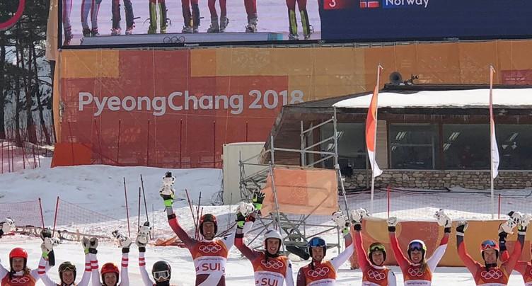 La Suisse, une équipe en or en ski alpin