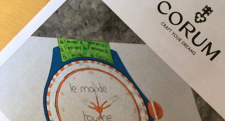 Designers horlogers en herbe