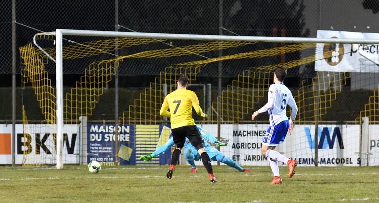 Score nul et vierge pour le FC Bassecourt