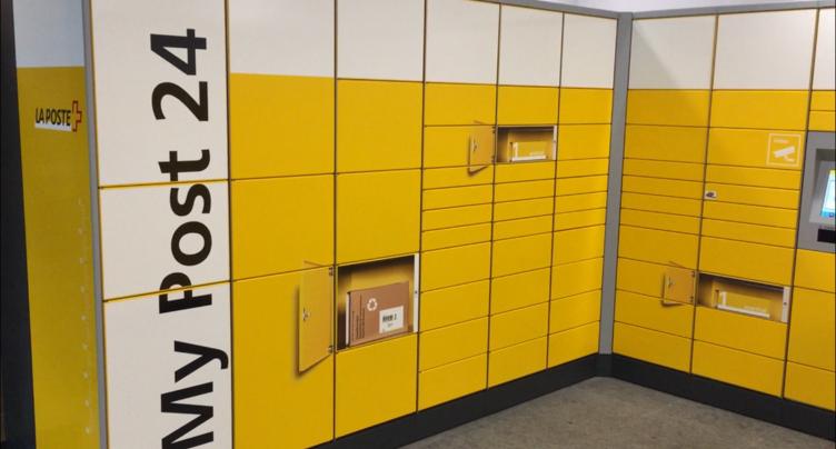 Un automate postal débarque au Locle