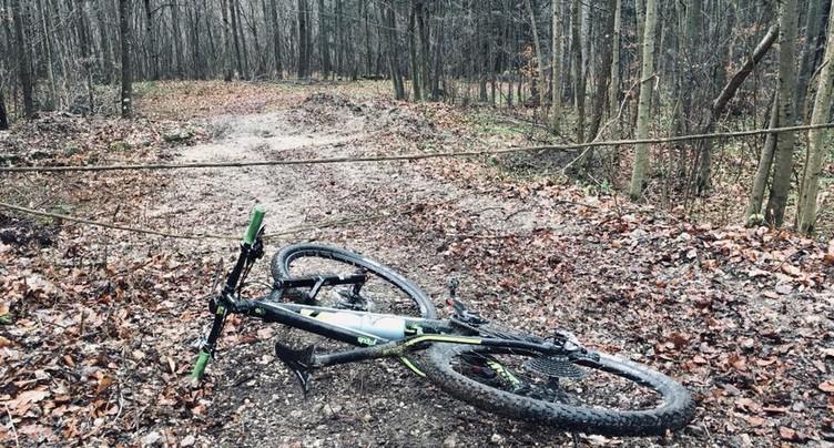 Chemin forestier piégé, drame évité
