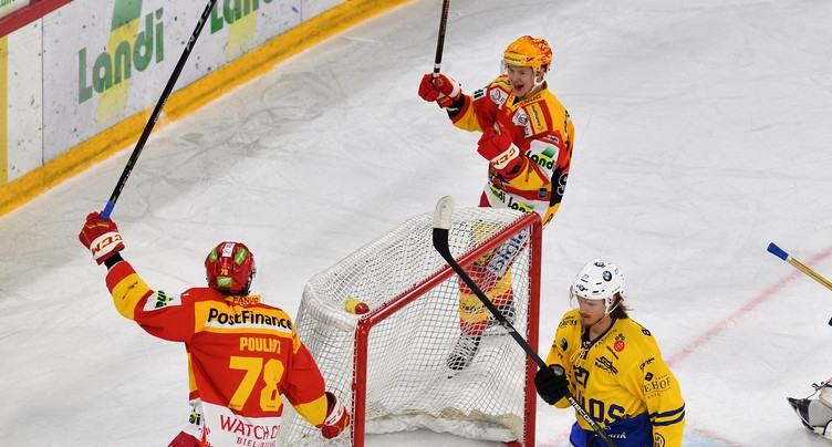 Le HC Bienne touche au but