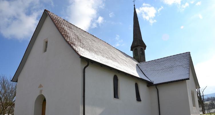 Le réveil en douceur de la chapelle Ste-Croix