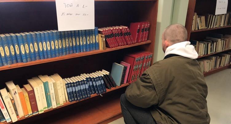 Nettoyage de printemps au Bibliobus