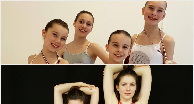 Des danseuses régionales qui s'illustrent