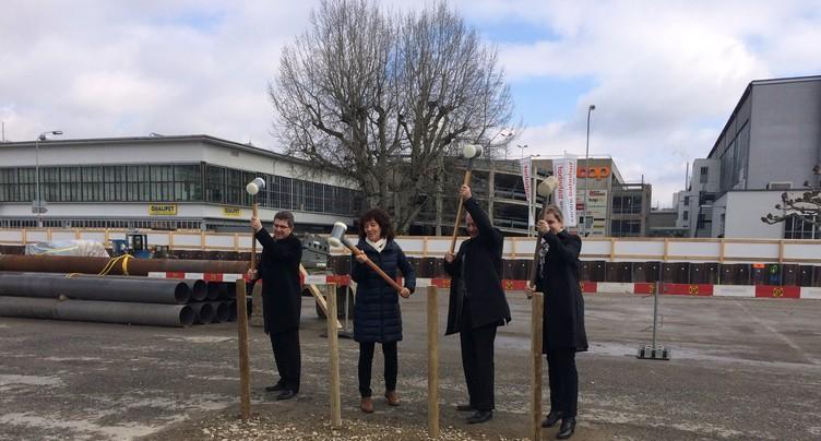 Lancement de la construction du campus de la HES bernoise à Bienne