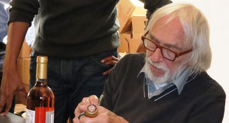 Pierre Richard en visite à Delémont
