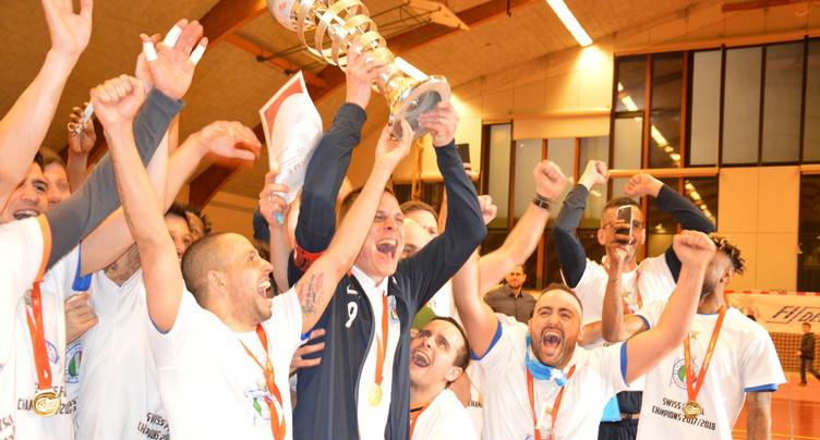 Le RCD Fidell est champion de Suisse de futsal !