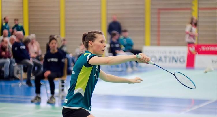 Sabrina Jaquet en huitièmes aux Européens de badminton