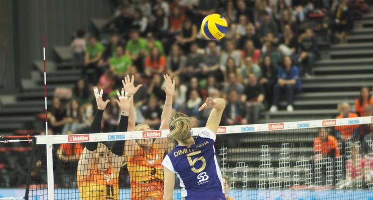 La Coupe de Suisse de volleyball échappe au NUC
