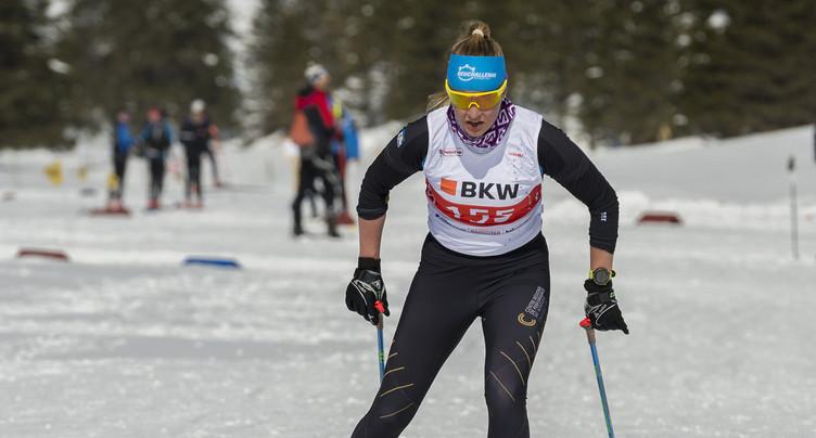 Ski de fond : Prisca Schneider bien placée