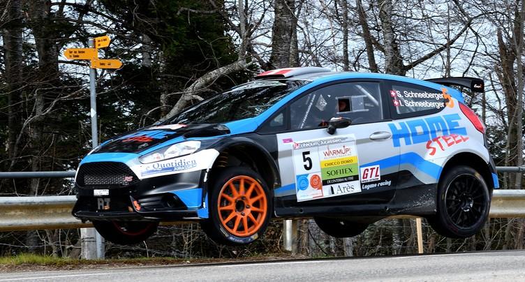 Steeves Schneeberger s'impose lors du Rallye du Chablais
