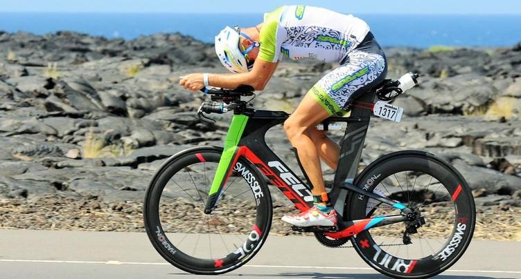 Romain Christe abaisse sa marque à l'Ironman d'Hawaï