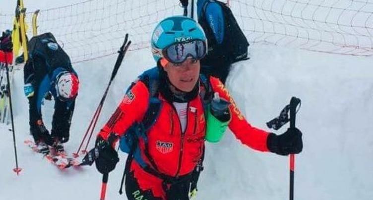 Vanja Kistler au sommet