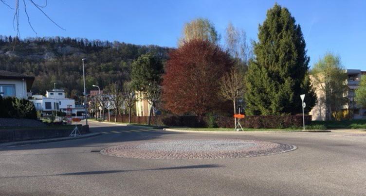Pas de verrou à la route du Vorbourg