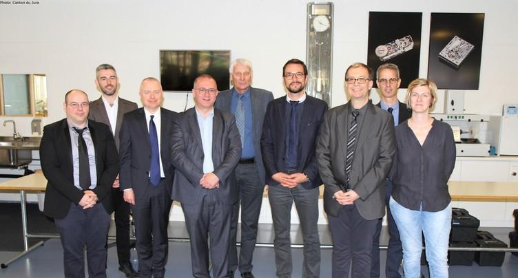 Des élus belfortains en visite dans le Jura