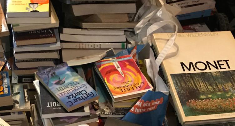 Des livres livrés à la maison