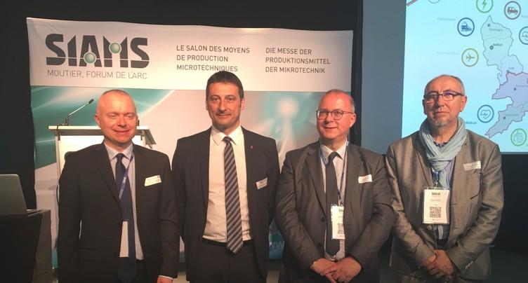Le SIAMS pour créer des liens entre entrepreneurs jurassiens et français
