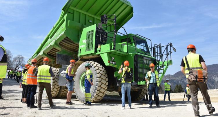 Vigier présente le plus gros véhicule électrique du monde