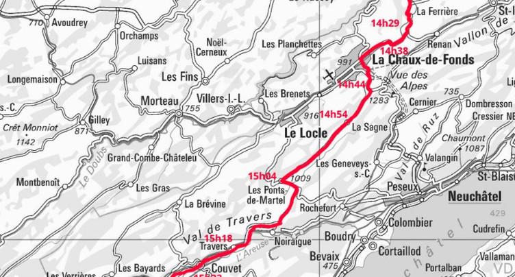 Priorité aux cyclistes du Tour de Romandie sur les routes neuchâteloises