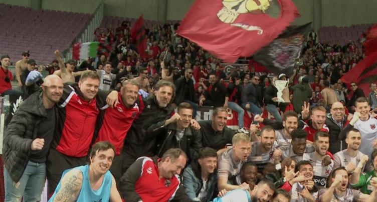 Xamax et ses supporters fêtent la promotion