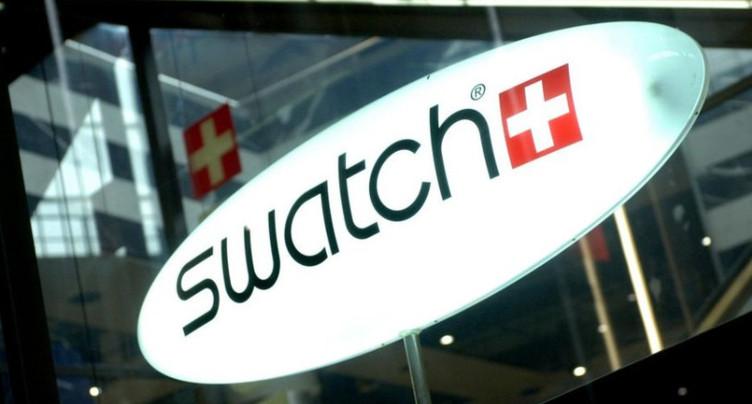 Le chiffre d'affaires de Swatch s'envole