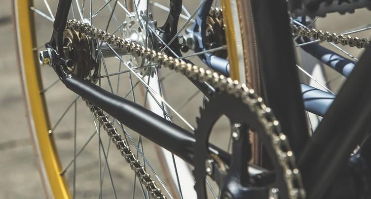 Une cycliste blessée à Bienne