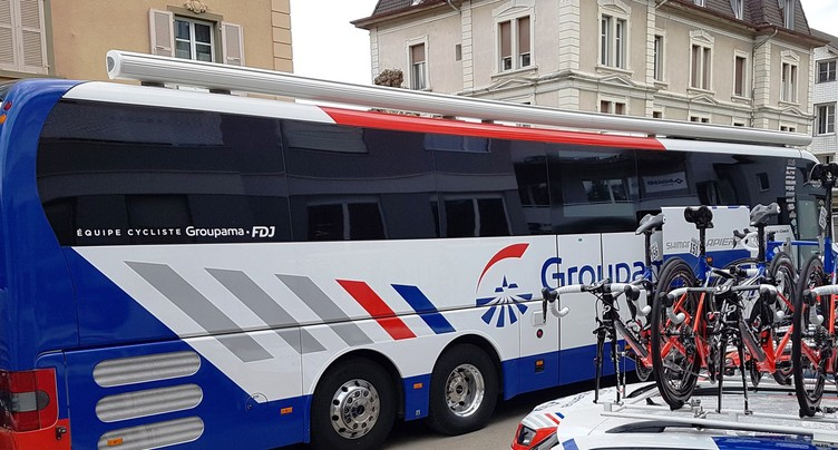 Au cœur de l'équipe Groupama FDJ