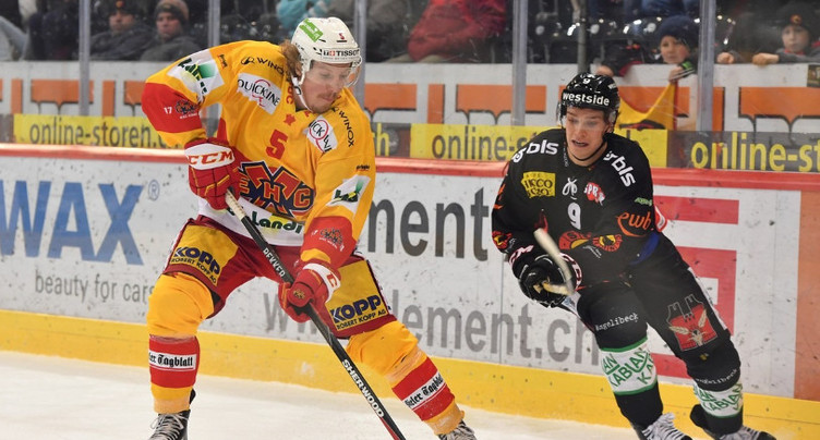 Nicholas Steiner en Swiss League