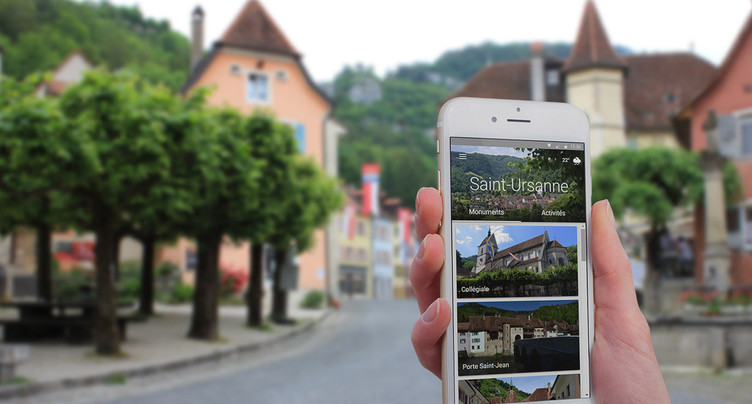 St-Ursanne sur smartphone
