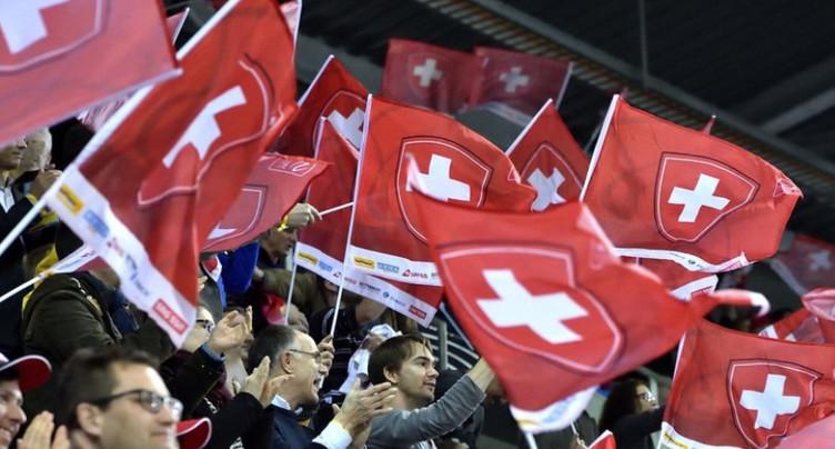 La Suisse domine la Biélorussie