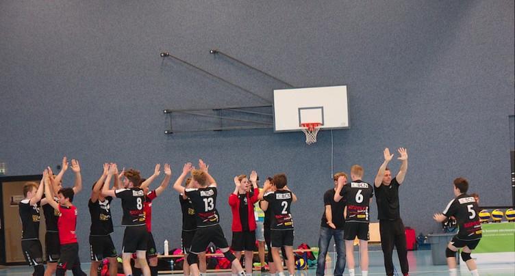 La relève du volleyball en fête à Neuchâtel