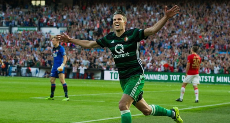 Robin Van Persie à la Coupe horlogère