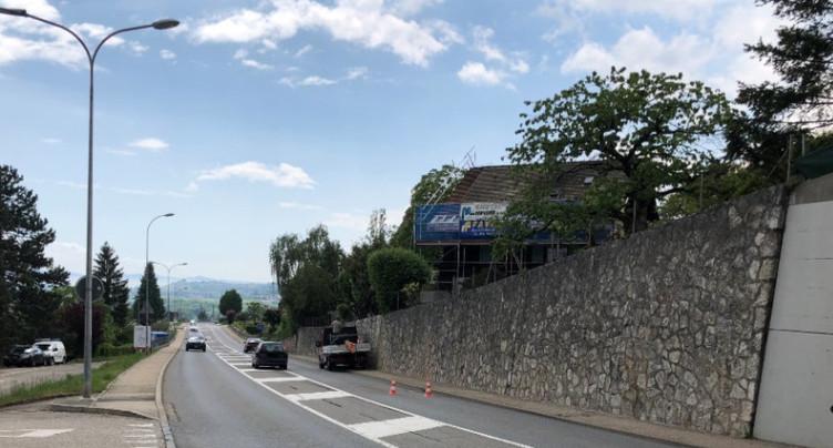 Travaux entre le giratoire de La Brena et Peseux