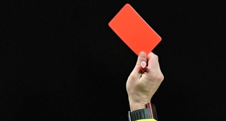 Le FC Moutier exclut son joueur qui s'en est pris à un arbitre