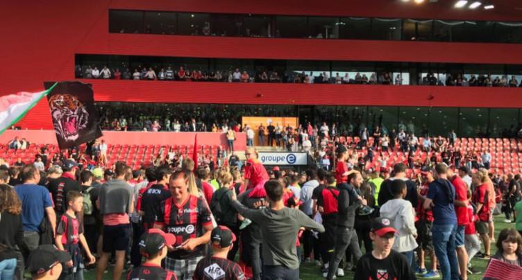 Neuchâtel Xamax FCS victorieux et champion