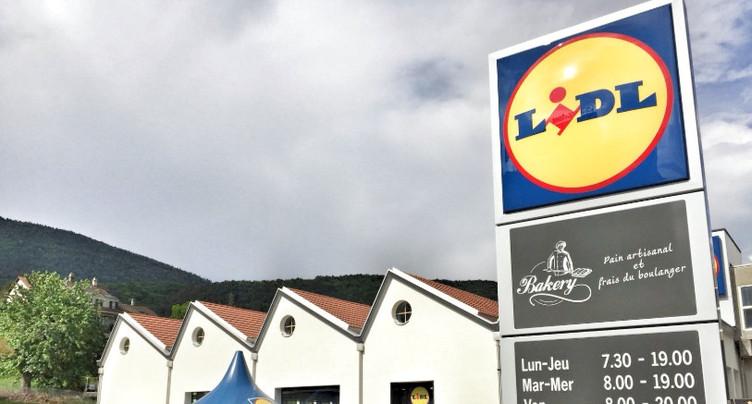 Lidl ouvre ses portes à Moutier