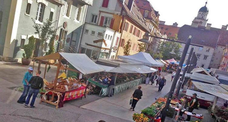 Commerçants unis contre le déplacement du marché de La Chaux-de-Fonds