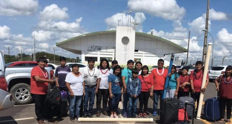 Des indiens d'Amazonie à Peseux