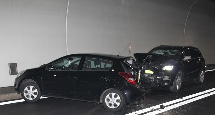 Deux blessés dans un tunnel de l'A16