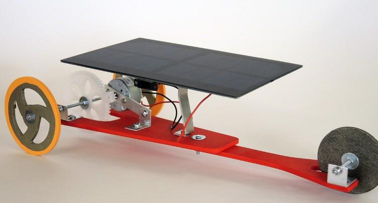 Une course et un défi pour promouvoir le solaire