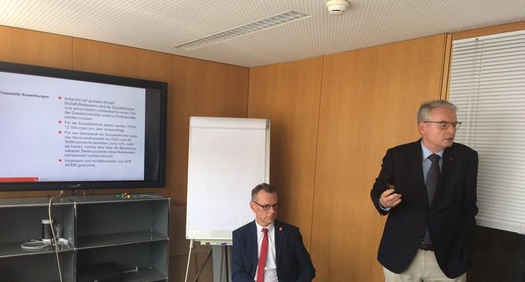 Beat Feurer s'oppose à la future organisation de l'autorité sociale