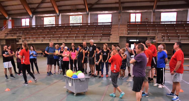 Les communes s'affrontent dans des joutes sportives