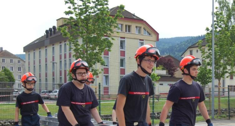 Les 20 ans de la section jeunes sapeurs-pompiers