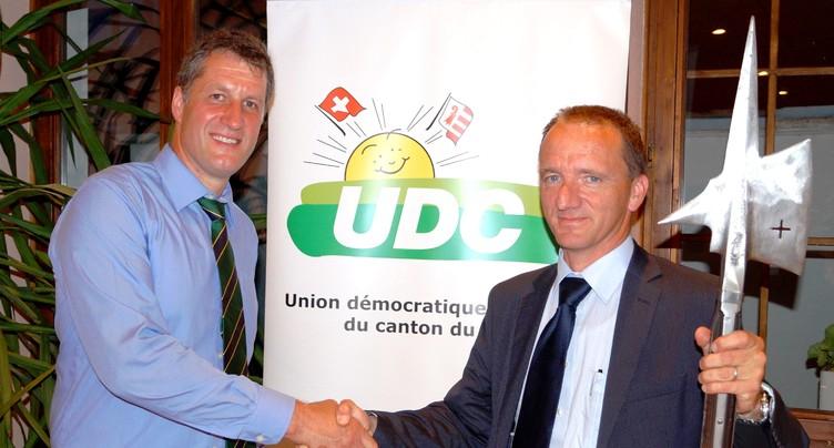 Thomas Stettler à la tête de l'UDC Jura