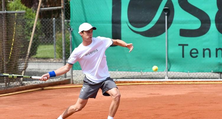 Fin de l'aventure pour Damien Wenger à Wimbledon
